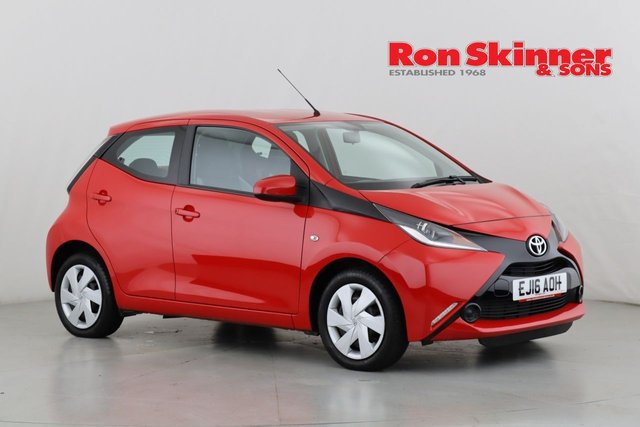 View our 2016 16 TOYOTA AYGO 1.0 VVT-I X-PLAY 5d 69 BHP