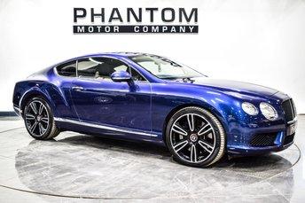 2012 BENTLEY CONTINENTAL 4.0 GT V8 2d 500 BHP £50990.00
