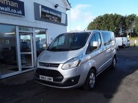 2015 FORD TRANSIT CUSTOM 2.2 290 LIMITED  DCB 125 BHP £14695.00