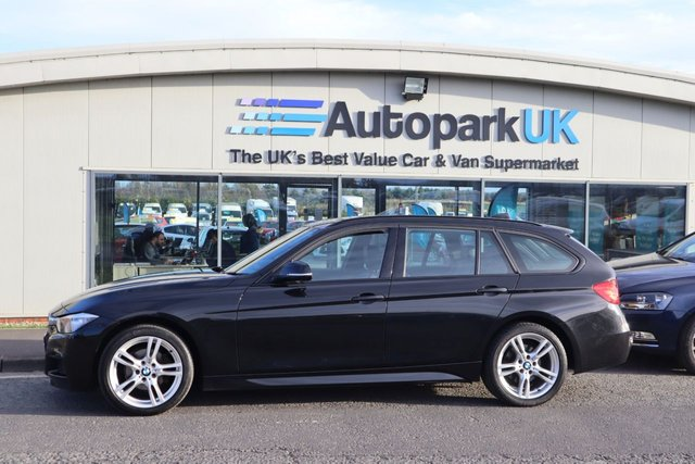 USED 2013 13 BMW 3 SERIES 2.0 320I XDRIVE M SPORT TOURING 5d 181 BHP LOW DEPOSIT OR NO DEPOSIT FINANCE AVAILABLE