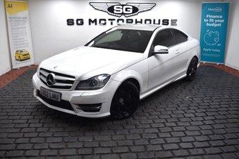 2012 MERCEDES-BENZ C CLASS 2.1 C220 CDI BLUEEFFICIENCY AMG SPORT 2d 170 BHP £9485.00