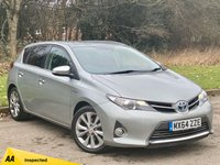 USED 2014 64 TOYOTA AURIS 1.8 EXCEL VVT-I  5d 99 BHP SATELLITE NAVIGATION, BLUETOOTH CONNECTION