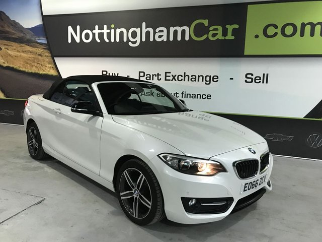 USED 2016 66 BMW 2 SERIES 2.0 218D SPORT 2d 148 BHP