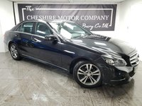 USED 2014 63 MERCEDES-BENZ E CLASS 2.1 E220 CDI SE 4d 168 BHP + NAV + LEATHER + HISTORY
