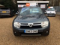 USED 2014 63 DACIA DUSTER 1.5 LAUREATE DCI 4WD 5d 109 BHP FULL MAIN DEALER SERVICE HISTORY - FINANCE AVAILABLE