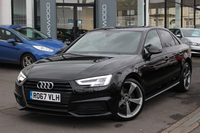 USED 2017 67 AUDI A4 1.4 TFSI Black Edition S Tronic Auto (s/s) 4dr