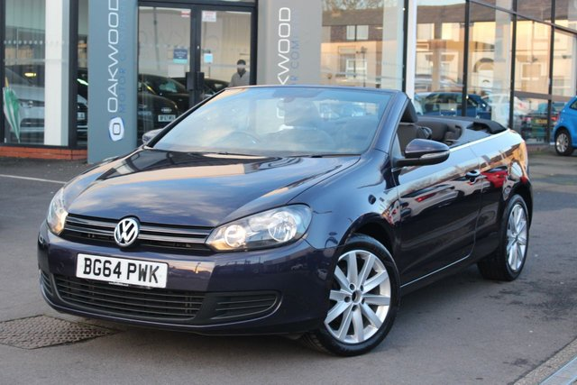 USED 2014 64 VOLKSWAGEN GOLF 1.6 TDI BlueMotion Tech SE BlueMotion Cabriolet 2dr