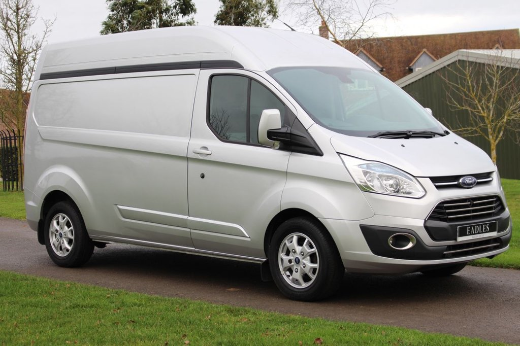 USED 2014 14 FORD TRANSIT CUSTOM 2.2 290 LIMITED LR P/V 124 BHP Long Wheel base - High Top - Limited - Full Ford Service History - Ready to go!