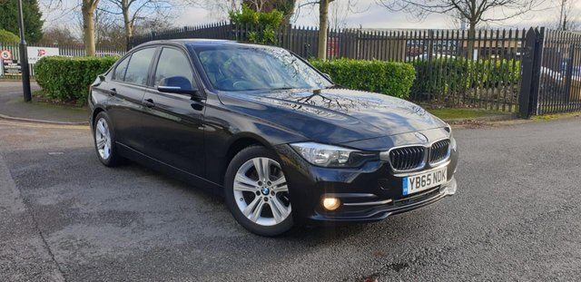 2015 65 BMW 3 SERIES 2.0 316D SPORT 4d 114 BHP