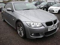 2012 BMW 3 SERIES 2.0 320D M SPORT 2d 181 BHP SOLD