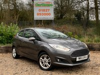 USED 2016 65 FORD FIESTA 1.25 ZETEC 3dr Low Miles, Ford SH