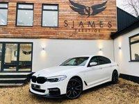 USED 2017 67 BMW 5 SERIES 2.0 520D M SPORT 4d AUTO 188 BHP