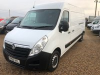 USED 2015 65 VAUXHALL MOVANO 2.3 F3500 L3H2 P/V CDTI 134 BHP BI TURBO 136 HP * FULL SERVICE HISTORY * ONE OWNER FROM NEW
