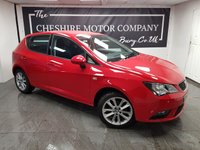 USED 2015 15 SEAT IBIZA 1.4 TOCA 5d 85 BHP + ALLOYS + A/C + LOW MILES