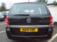 USED 2010 10 VAUXHALL ZAFIRA 1.6 LIFE 5d 113 BHP GUARANTEED TO BEAT ANY 'WE BUY ANY CAR' VALUATION ON YOUR PART EXCHANGE