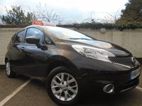 2014 NISSAN NOTE 1.2 ACENTA 5d 80 BHP £5299.00