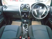 USED 2014 64 NISSAN NOTE 1.2 ACENTA 5d 80 BHP GUARANTEED TO BEAT ANY 'WE BUY ANY CAR' VALUATION ON YOUR PART EXCHANGE