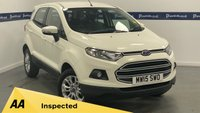 USED 2015 15 FORD ECOSPORT 1.5 ZETEC 5d 110 BHP (BLUETOOTH PHONE AND MEDIA)