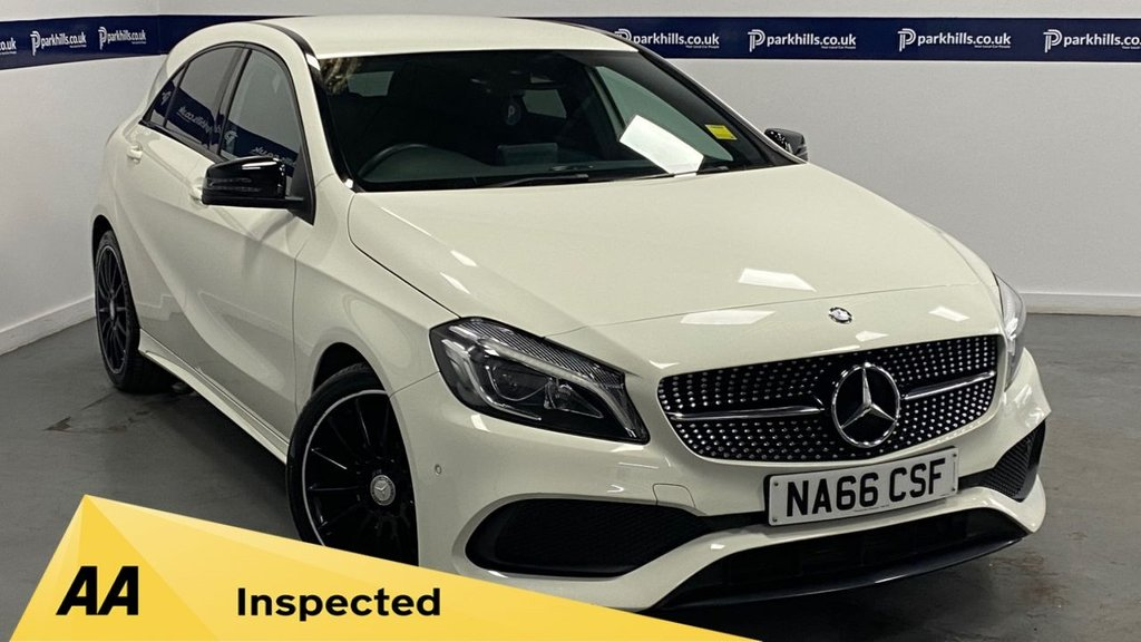 USED 2016 66 MERCEDES-BENZ A CLASS 1.5 A 180 D AMG LINE PREMIUM 5d 105 BHP (ONE OWNER - 18 INCH ALLOYS)