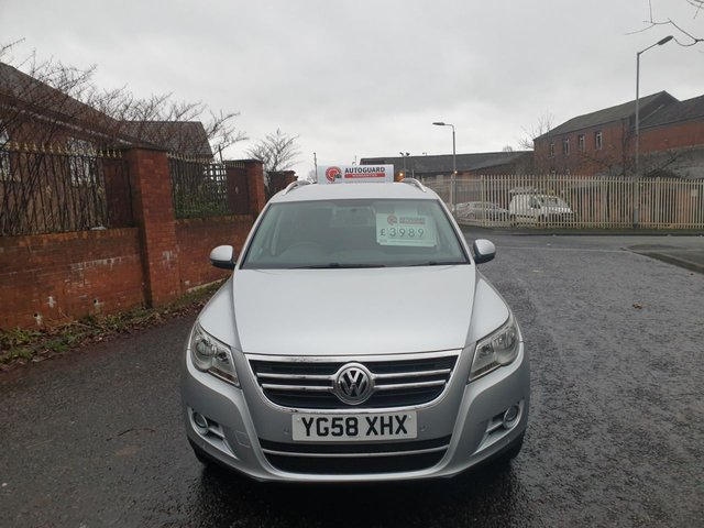 USED 2008 58 VOLKSWAGEN TIGUAN 2.0 SE TDI 5d 138 BHP A GREAT FAMILY 4X4