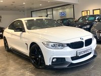 USED 2016 16 BMW 4 SERIES 3.0 430D M SPORT 2d 255 BHP BM PERFORMANCE STYLING+6.9%APR