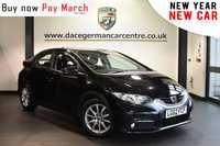 """USED 2012 62 HONDA CIVIC 2.2 I-DTEC ES 5DR 148 BHP Finished in a stunning black styled with 16"""" alloys. Upon opening the drivers door you are presented with cloth upholstery, superb service history, bluetooth, reversing camera, cruise control, sport seats, multi functional steering wheel, electric folding mirrors, USB/AUX port, auto stop start function, air conditioning"""