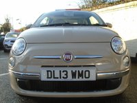 USED 2013 13 FIAT 500 1.2 LOUNGE 3d 69 BHP GUARANTEED TO BEAT ANY 'WE BUY ANY CAR' VALUATION ON YOUR PART EXCHANGE