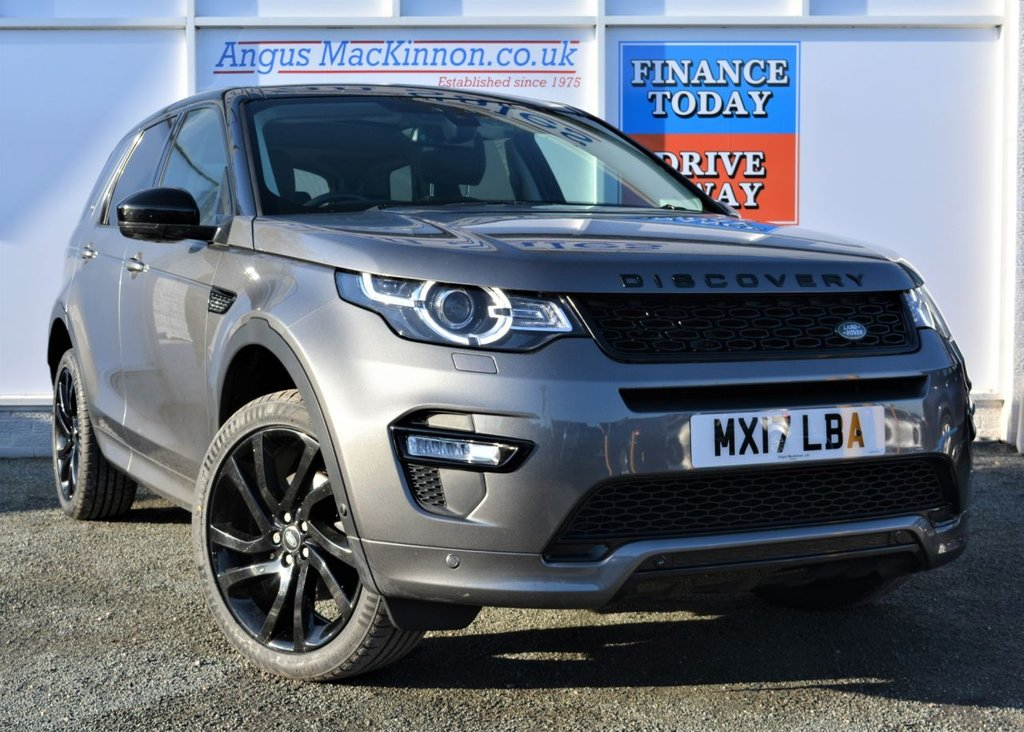USED 2017 17 LAND ROVER DISCOVERY SPORT 2.0 TD4 HSE DYNAMIC LUX 5d 7 Seat Family SUV 4x4 AUTO Stunning Colour with Black Pack and Massive High Spec ***ONE OWNER FROM NEW***