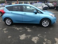 USED 2013 63 NISSAN NOTE 1.2 ACENTA 5d 80 BHP IN METALLIC BLUE WITH 93500 MILES, FULL SERVICE HISTORY, GREAT SPEC AND 1 OWNER. THIS IS A ULEZ COMPLIANT VEHICLE Approved Cars are pleased to offer this immaculate 2013 Nissan Note 1.2 Acenta in light metallic blue with only 93500 miles. This ideal ULEZ compliant family hatchback has been extremely well looked after and maintained and comes with a full service history. It comes well equipped with DAB radio, bluetooth, ECO driving mode, electric windows and much much more. For more information or to book a test drive please call our sales team on 01622 871555.