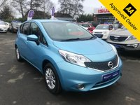 2013 NISSAN NOTE 1.2 ACENTA 5d 80 BHP IN METALLIC BLUE WITH 93500 MILES, FULL SERVICE HISTORY, GREAT SPEC AND 1 OWNER. THIS IS A ULEZ COMPLIANT VEHICLE £3799.00