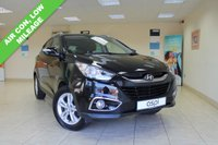 USED 2012 12 HYUNDAI IX35 1.7 PREMIUM CRDI 5d 114 BHP HALF LEATHER, AIR CONDITIONING, LOW MILEAGE, ECONOMICAL SUV