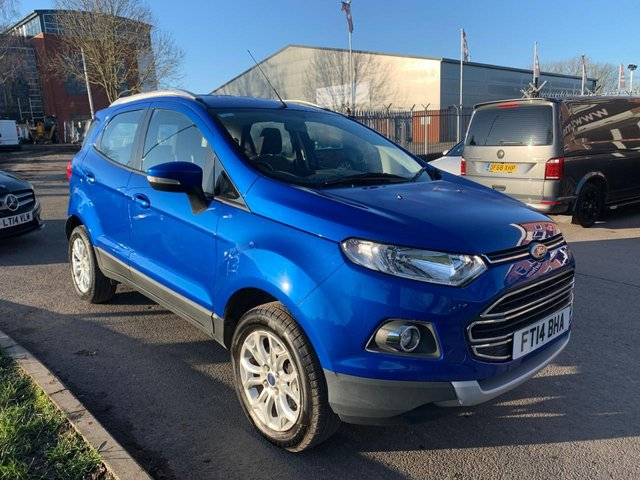 USED 2014 14 FORD ECOSPORT 1.5 TITANIUM TDCI 5d 88 BHP EXCELLENT EXAMPLE WITH FULL SERVICE HISTORY, ALLOY WHEELS, PARK SENSORS, RADIO/CD/AUX/USB, AIR CONDITIONING, ONLY £30 PER YEAR ROAD TAX