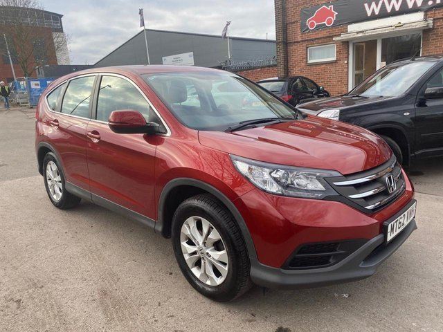 USED 2013 62 HONDA CR-V 2.0 I-VTEC S 5d 153 BHP EXCELLENT EXAMPLE WITH SERVICE HISTORY, TOW BAR, ALLOY WHEELS, RADIO/CD/AUX/USB, CRUISE CONTROL, CLIMATE CONTROL