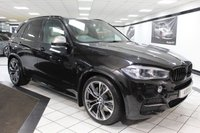 USED 2013 63 BMW X5 3.0 M50D 376 BHP 21's PAN ROOF 360 CAM FBMWSH