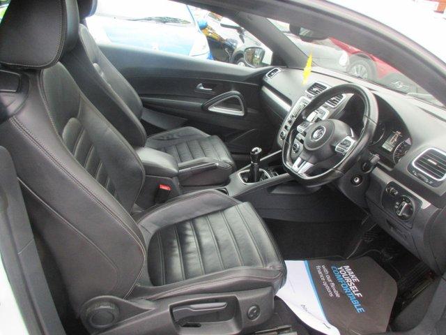 USED 2013 13 VOLKSWAGEN SCIROCCO 2.0 GT TDI 2d 175 BHP **SAT NAV..**FULL LEATHER INTERIOR*