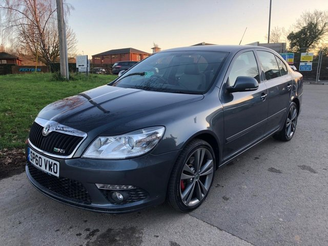 USED 2010 60 SKODA OCTAVIA 2.0 VRS TFSI 5d 198 BHP EXCELLENT EXAMPLE WITH SERVICE HISTORY, ALLOY WHEELS, RADIO/CD, CRUISE CONTROL, AIR CONDITIONING