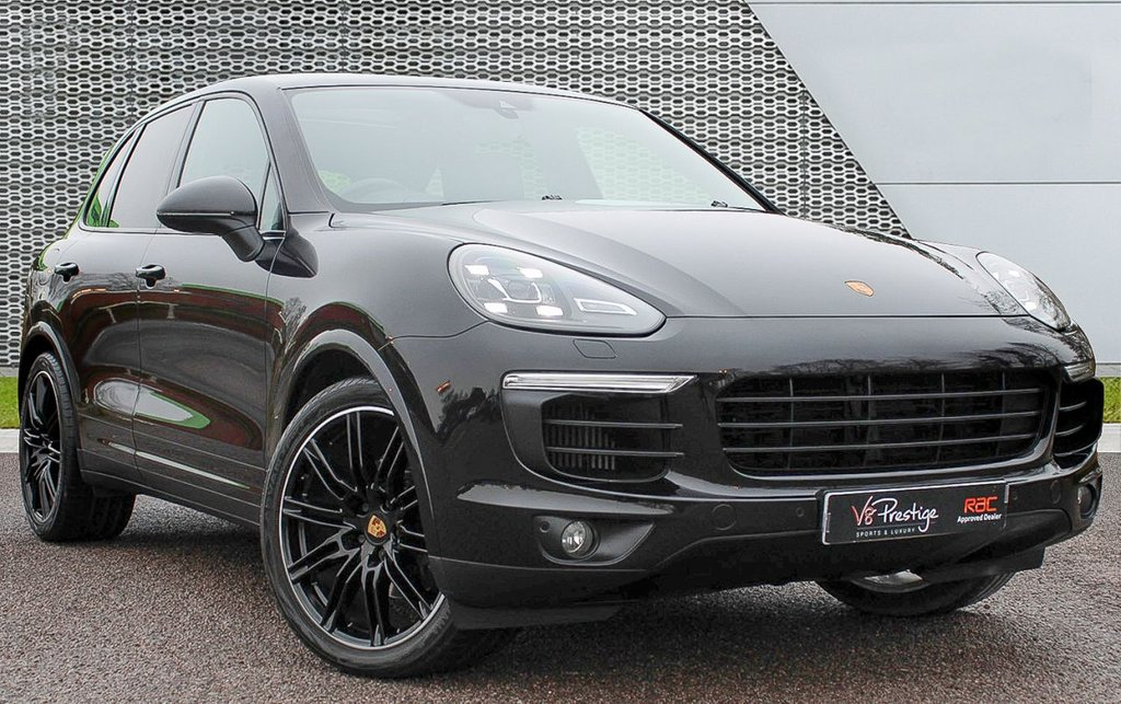 USED 2016 66 PORSCHE CAYENNE 3.0 D V6 PLATINUM EDITION TIPTRONIC S 5d 258 BHP *GTS SPEC/AIR SUSPENSION/PDLS*