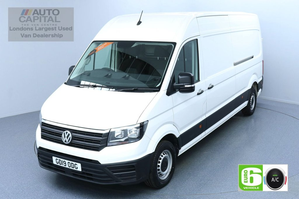 USED 2019 19 VOLKSWAGEN CRAFTER 2.0 CR35 TDI LWB H/ROOF STARTLINE 138 BHP AIR CON EURO 6 AIR CON BUSINESS PACK