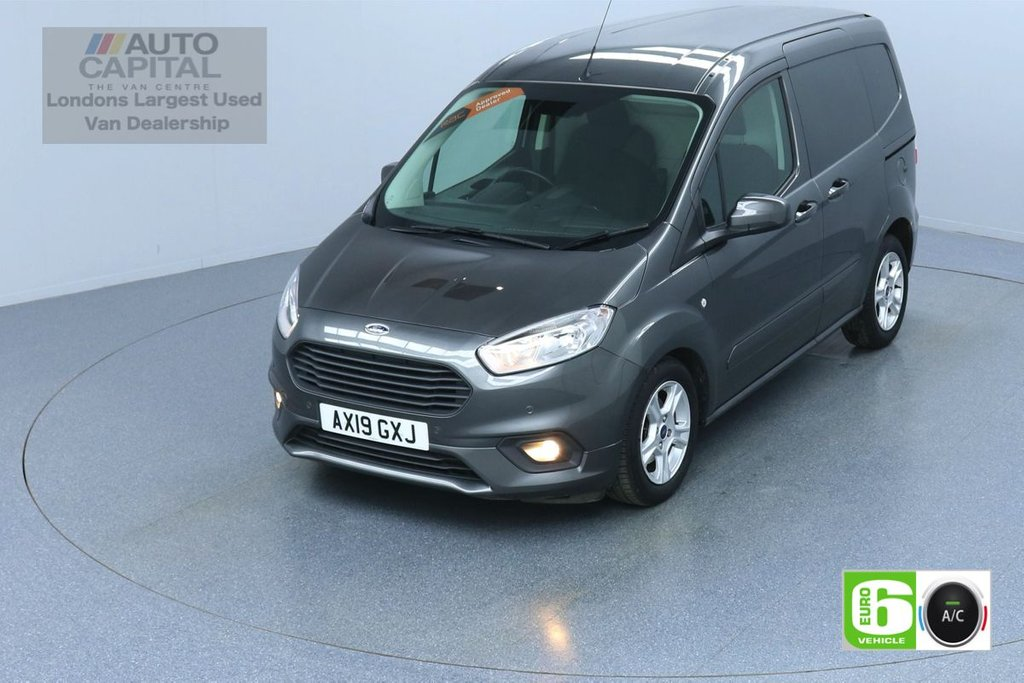 USED 2019 19 FORD TRANSIT COURIER 1.5 LIMITED TDCI 100 BHP SWB L1H1 AIR CON EURO 6  REVERSE CAMERA APPLE PLAY