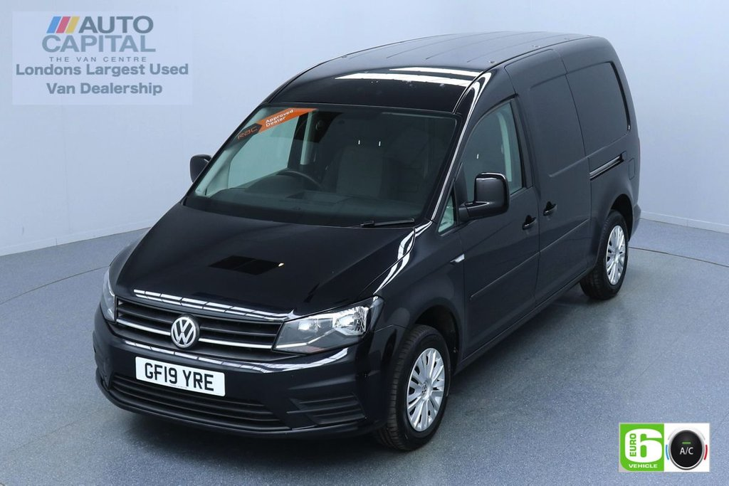 USED 2019 19 VOLKSWAGEN CADDY MAXI 2.0 C20 TDI TRENDLINE 101 BHP EURO 6 ENGINE AIR CON | PARKING SENSORS | VOICE CONTROL