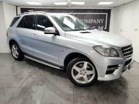 USED 2013 62 MERCEDES-BENZ M CLASS 3.0 ML350 BLUETEC SPORT 5d 258 BHP + HISTORY + 2 KEYS