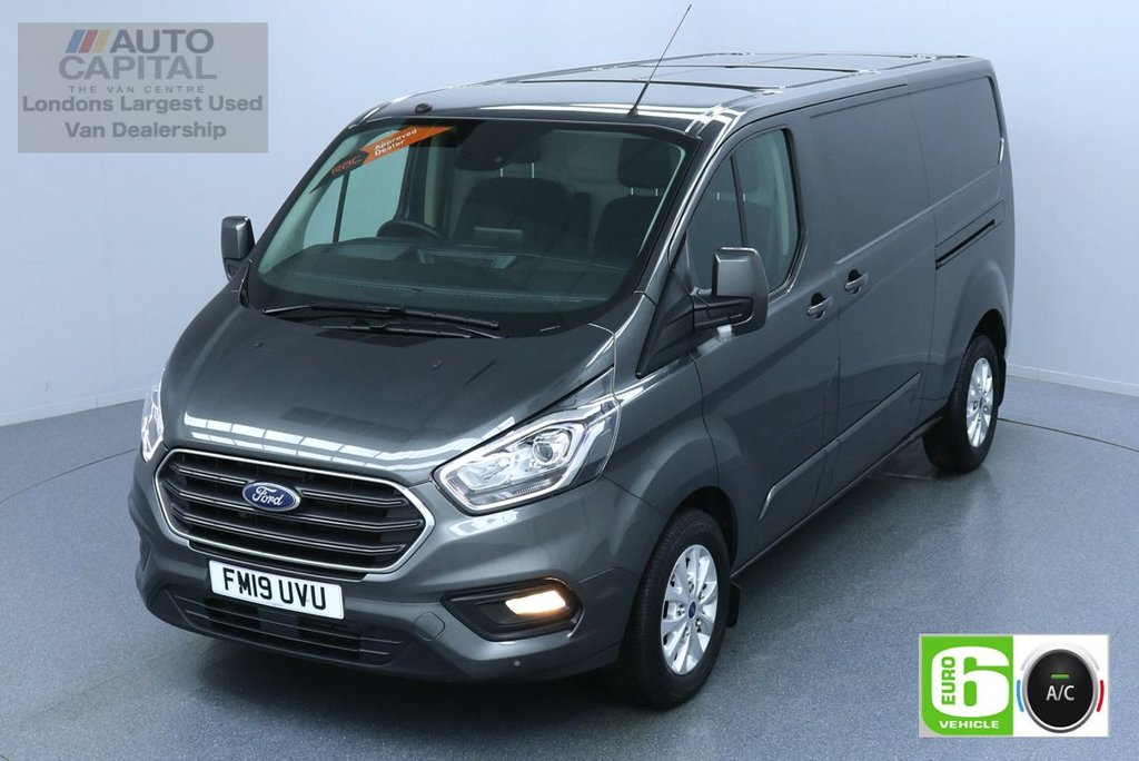 USED 2019 19 FORD TRANSIT CUSTOM 2.0 300 LIMITED L2 H1 130 BHP LWB AIR CON EURO 6 AIR CON, SENSORS HEATED SEATS