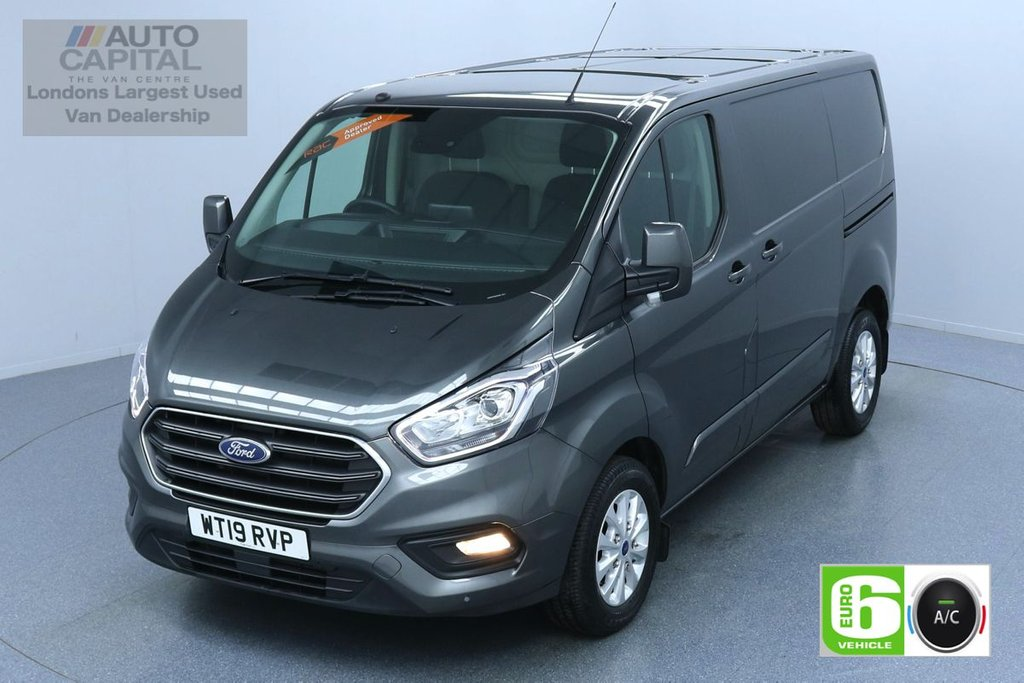 USED 2019 19 FORD TRANSIT CUSTOM 2.0 300 LIMITED L1 H1 130 BHP SWB AIR CON EURO 6 AIR CON, SENSORS HEATED SEATS