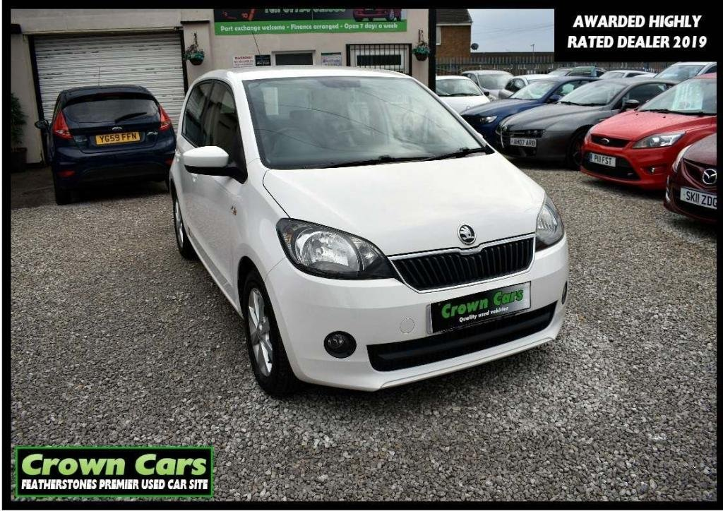 USED 2012 62 SKODA CITIGO 1.0 MPI GreenTech Elegance 5dr 3 MONTH WARRANTY & PDI CHECKS