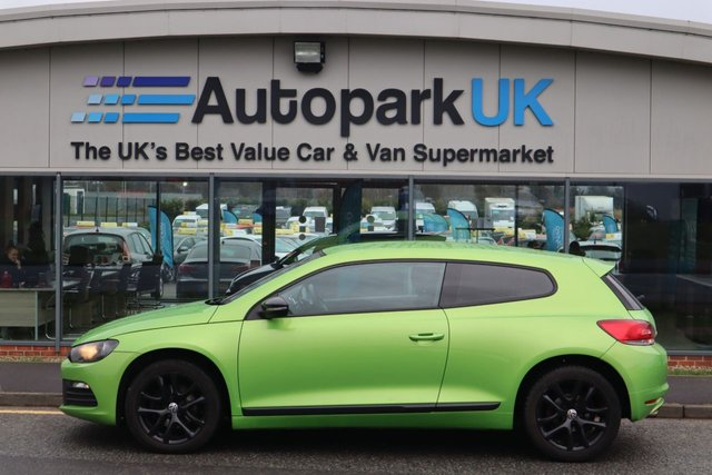 USED 2011 61 VOLKSWAGEN SCIROCCO 2.0 TDI BLUEMOTION TECHNOLOGY 2d 140 BHP ALL CREDIT HISTORIES WELCOME*