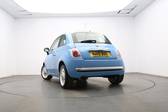 FIAT 500 at Georgesons