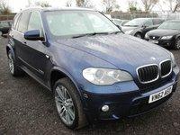 2012 BMW X5 3.0 XDRIVE30D M SPORT 5d 241 BHP £12000.00