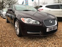 USED 2011 11 JAGUAR XF 3.0 V6 PREMIUM LUXURY 4d AUTO 240 BHP EXCEPTIONALLY CLEAN CAR ALL ROUND: