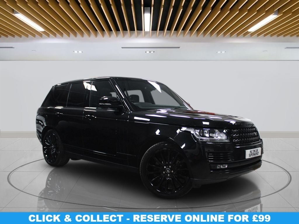 "USED 2016 16 LAND ROVER RANGE ROVER 3.0 TDV6 VOGUE 5d 255 BHP | NO ULEZ CHARGES Navigation System, Panoramic Roof, 22"" Alloys, Leather Heated Seats, Parking Sensor(s), Climate Control,"