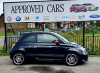 USED 2014 63 ABARTH 500 1.4 ABARTH 3d 135 BHP SENSORS, AUX & USB MEDIA CONNECTION
